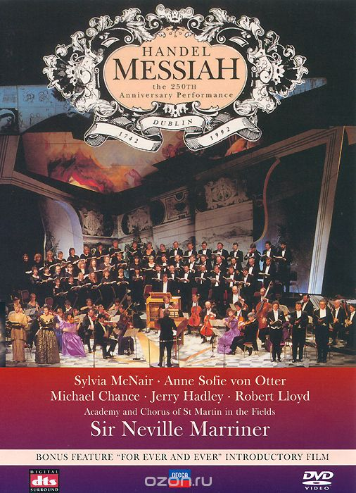 Handel, Sir Neville Marriner: Messiah - The 250th Anniversary Performance