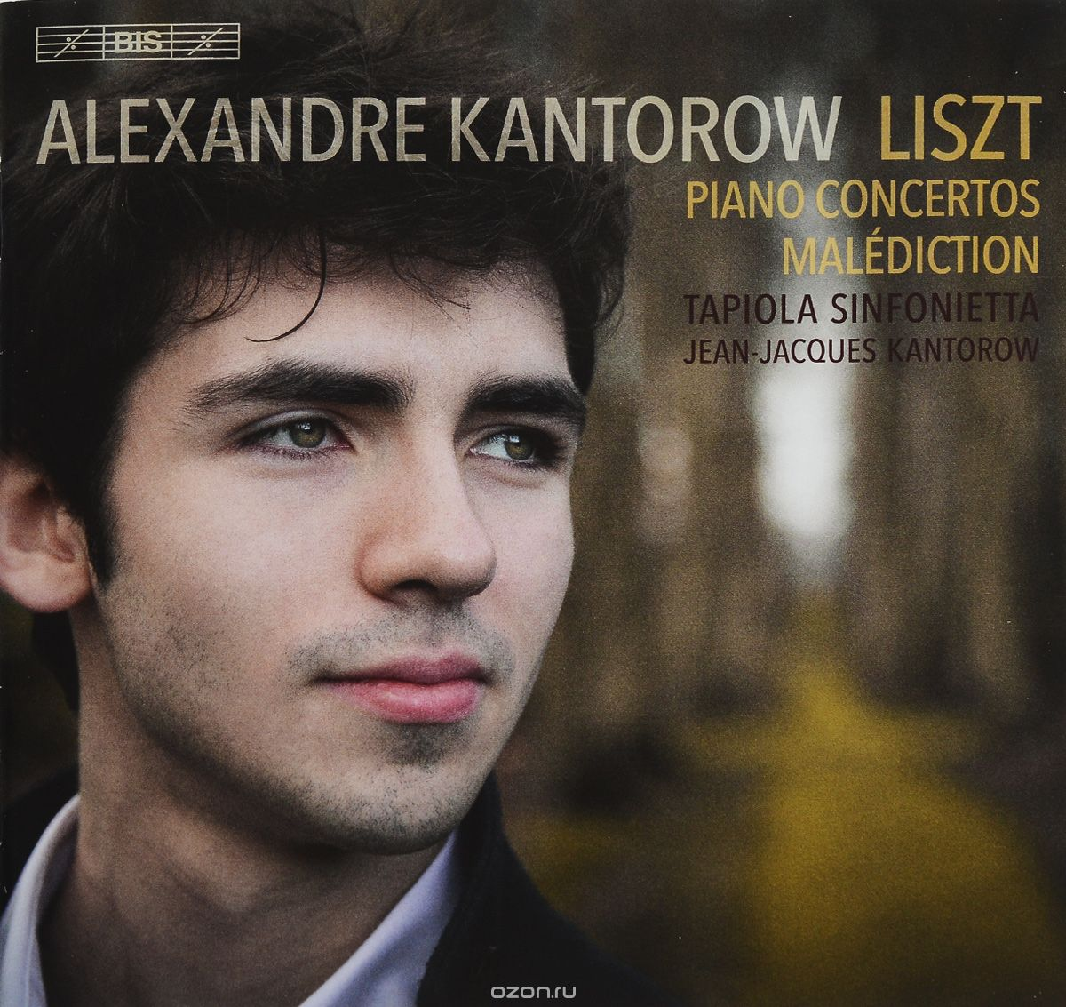 Alexandre Kantorow. Liszt. Piano Concertos. Malediction (SACD)