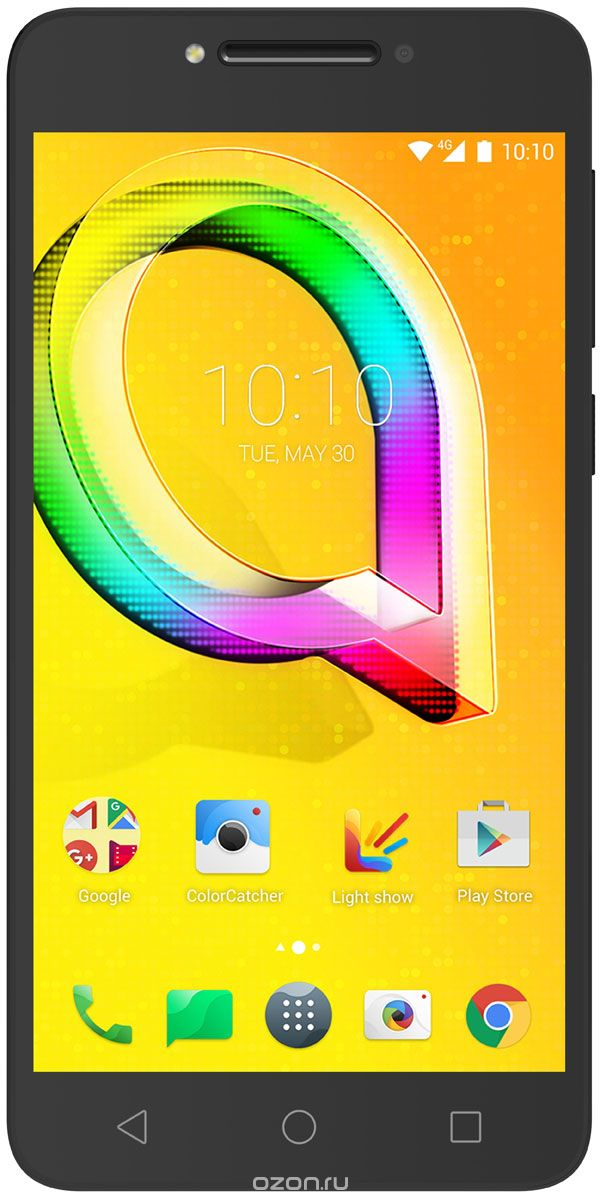 Alcatel OT-5085D A5 LED, Metallic Black