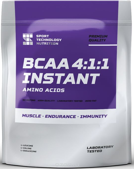 "BCAA Sport Technology Nutrition ""4:1:1"", лимон, 500 г"