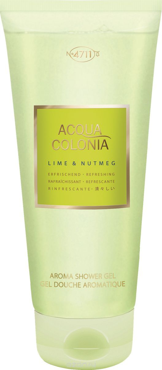 4711 Acqua Colonia Refreshing Lime & Nutmeg √ель дл¤ душа, 200 мл
