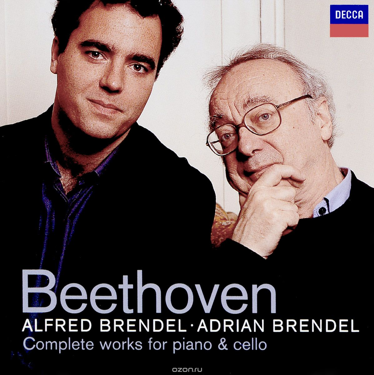 Alfred Brendel, Adrian Brendel. Beethoven: Complete Works for Piano & Cello (2 CD)